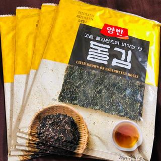 ヤンバン 韓国海苔 全形 4袋セット(乾物)