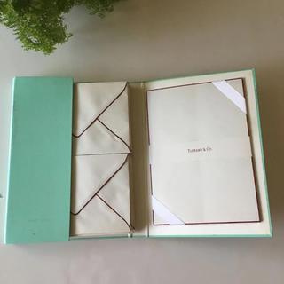 ティファニー(Tiffany & Co.)の専用 未使用ティファニーレターセット(カード/レター/ラッピング)