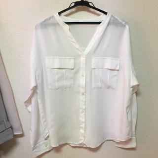 ジーユー(GU)のスキッパーシャツ(シャツ/ブラウス(長袖/七分))