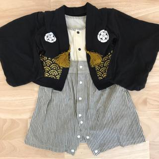 ベルメゾン(ベルメゾン)の袴 ロンパース 男の子(和服/着物)
