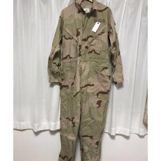 実物アメリカ軍メカニックカバーオール