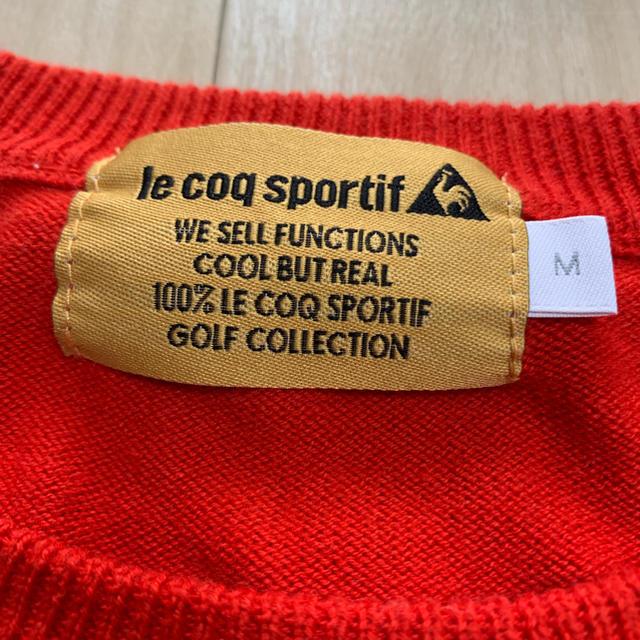 le coq sportif(ルコックスポルティフ)のルコック ニット スポーツ/アウトドアのゴルフ(ウエア)の商品写真