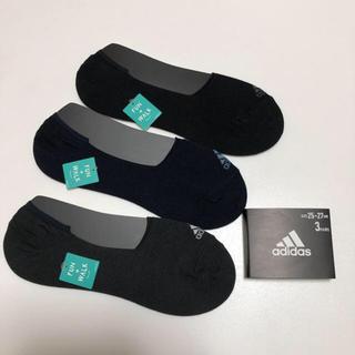 アディダス(adidas)の送無 アディダス 靴下 ソックス スニーカーソックス 3足セット(ソックス)