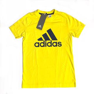 adidas - 新品 未使用 アディダス Tシャツ 半袖 130cm イエロー