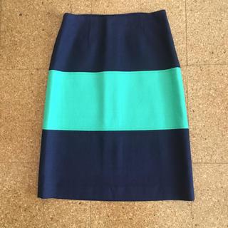 バナナリパブリック(Banana Republic)の新品タグ付!バナナ リパブリック春夏スカート*0(ひざ丈スカート)