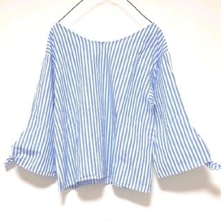 ジーユー(GU)のGU ストライプ シャツ(シャツ/ブラウス(長袖/七分))