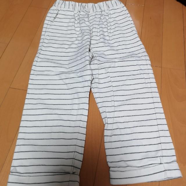 GU(ジーユー)のクロップドパンツ キッズ/ベビー/マタニティのキッズ服 男の子用(90cm~)(パンツ/スパッツ)の商品写真