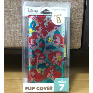 ディズニー(Disney)のIphone8/7  ディズニー アリエル スマホケース(iPhoneケース)