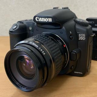 Canon - Canon   EOS 20D  USMレンズ セット中古品