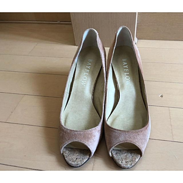 BAYFLOW(ベイフロー)のオープントゥーパンプス レディースの靴/シューズ(ハイヒール/パンプス)の商品写真