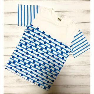 ターカーミニ(t/mini)のt/mini ターカーミニ K34899 ドット柄Tシャツ (Tシャツ/カットソー)