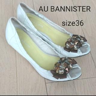 オゥバニスター(AU BANNISTER)のAU BANNISTER オゥ バニスター  パンプス サイズ 36(ハイヒール/パンプス)