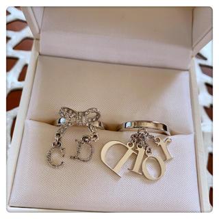 クリスチャンディオール(Christian Dior)のChristian Dior❤️ キラキラリングset❤️新品❤️(リング(指輪))