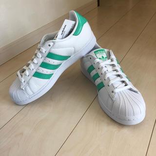 アディダス(adidas)のスーパースター B41995 26.5 アディダス グリーン(スニーカー)