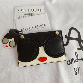 アリスアンドオリビア(Alice+Olivia)のAlice olivia  カードケース 定期入れ 名刺入れ 新品(名刺入れ/定期入れ)