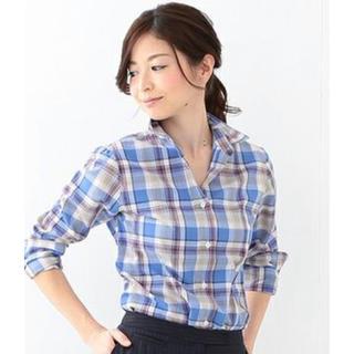 デミルクスビームス(Demi-Luxe BEAMS)のDemi-Luxe BEAMS  ORIAN マドラスチェックシャツ(シャツ/ブラウス(長袖/七分))