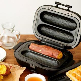 ドウシシャ(ドウシシャ)の焼き芋ホットプレート温度調節機能付き平面プレート付きSOLUNA WFS-100(調理機器)