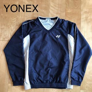 YONEX - ★ YONEX ヨネックス メンズ S 長袖 ピステ 上 ウインドブレーカー 紺
