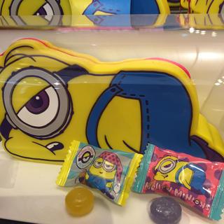 ミニオン(ミニオン)のユニバ USJ ミニオン  Mellow minion ポーチ付き キャンディー(菓子/デザート)
