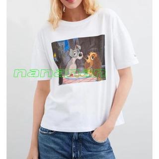 ZARA - 新品★S★ZARA★わんわん物語★Tシャツ★ディズニー