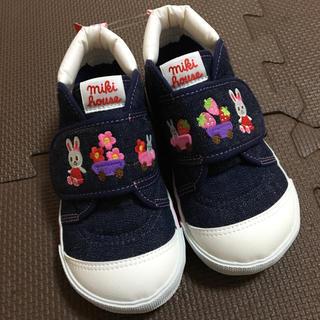 スニーカー  ミキハウス   靴    16   新品
