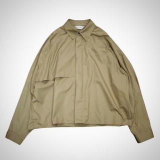 ジエダ(Jieda)のトレンチシャツ サイズ2(シャツ)