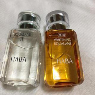 ハーバー(HABA)のハーバースクワランオイル(フェイスオイル / バーム)