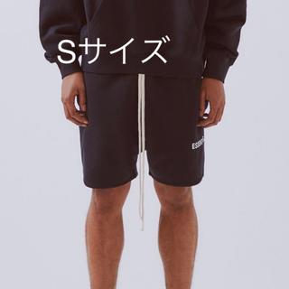 S fog essentials スウェット ショートパンツ ブラック 黒