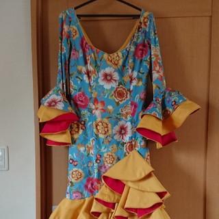 新品  フラメンコ衣装 ワンピース(ダンス/バレエ)
