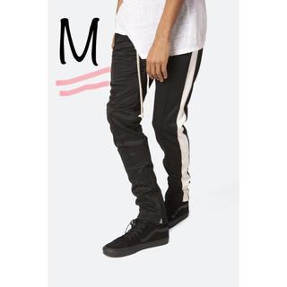 mnml トラックパンツ 黒白 M