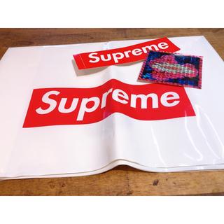 シュプリーム(Supreme)のSupreme ショッパー×ステッカー(ショップ袋)
