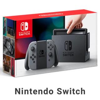 ニンテンドースイッチ(Nintendo Switch)のNintendo Switch (グレー) 新品未開封(家庭用ゲーム機本体)