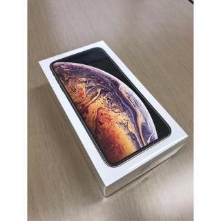 アイフォーン(iPhone)の新品未開封 iPhone XS Max 512GB SIMフリー au ゴールド(スマートフォン本体)