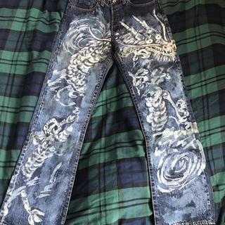 BLUE TRICK 1点ものジーンズ
