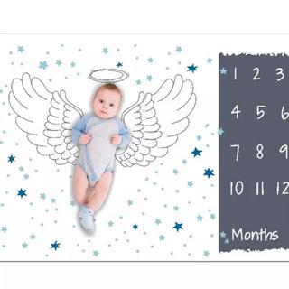 天使の羽♡お昼寝アートシーツ#レターシーツ