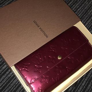 ルイヴィトン(LOUIS VUITTON)のルイヴィトン 正規品 ヴェルニ 長財布(財布)