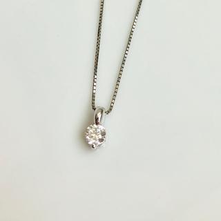 ジュエリーツツミ(JEWELRY TSUTSUMI)のPtダイヤモンドネックレス(0.3ct)★ジュエリーツツミ(ネックレス)