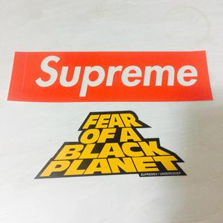 シュプリーム(Supreme)の新品supreme×undercoverBoxlogoステッカー2枚セット正規品(その他)