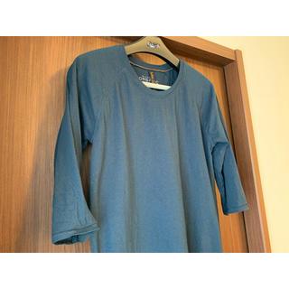 Nudie Jeans BACKBONE オーガニックコットン 7分袖Tシャツ