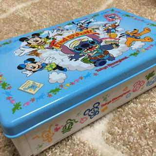 ディズニー 折り畳み式 ランチボックス スティッチ ミッキー