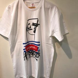 シュプリーム(Supreme)の19ss supreme jean paul gaultier tee M 白 (Tシャツ/カットソー(半袖/袖なし))