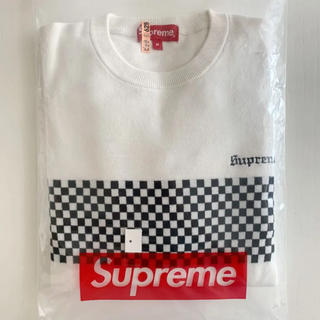 シュプリーム(Supreme)のSupreme Checkered Panel Crewneck Sweater(ニット/セーター)