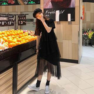 マーメイドTシャツワンピース♡フリルデザイン