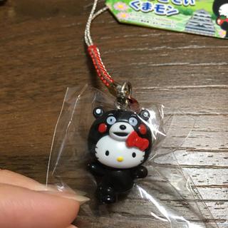 【未使用】熊本限定 ご当地キティ ストラップ