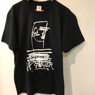 シュプリーム(Supreme)の19ss supreme jean paul gaultier tee M 黒 (Tシャツ/カットソー(半袖/袖なし))