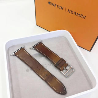 Apple Watch - エルメス 正規品 Apple Watch 38mm 用 レザーベルト