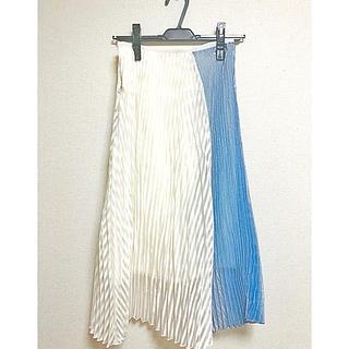 チェスティ(Chesty)の自宅保管品 chesty プリーツスカート サイズ0(ひざ丈スカート)