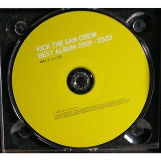 KICK THE CAN CREW  BEST ALBUM 2001-2003