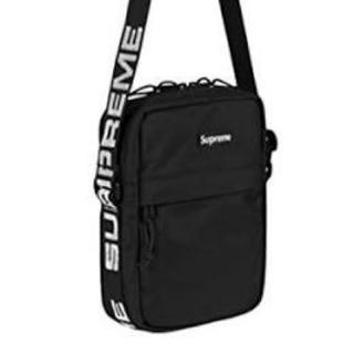 シュプリーム(Supreme)のSupreme shoulder bag 18ss ショルダーバッグ 黒 (ショルダーバッグ)