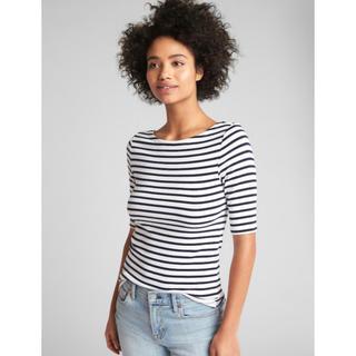 ギャップ(GAP)のGAP バレエバック  Tシャツ  バレエネック(Tシャツ(半袖/袖なし))